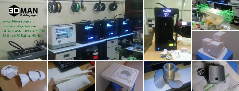 Các ứng dụng thực tế của công nghệ in 3D