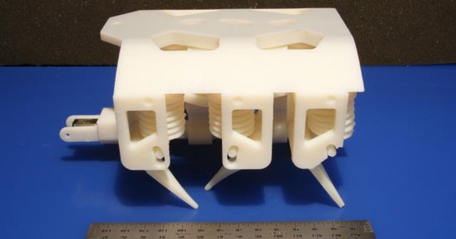 Đã in 3D thành công robot trong một lần chạy duy nhất, không cần lắp ráp