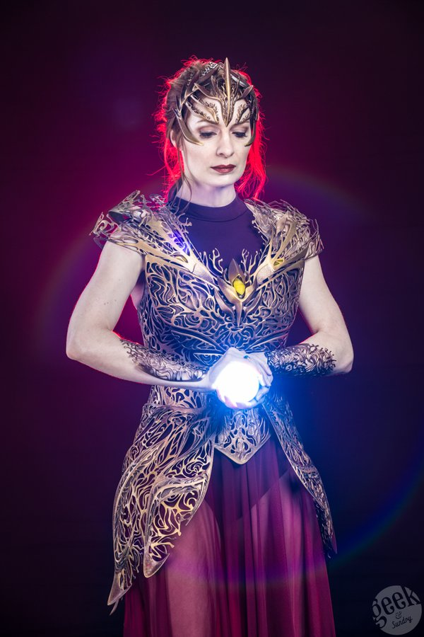 Chiêm ngưỡng Hoàng kim giáp tuyệt đẹp được làm từ công nghệ in 3D