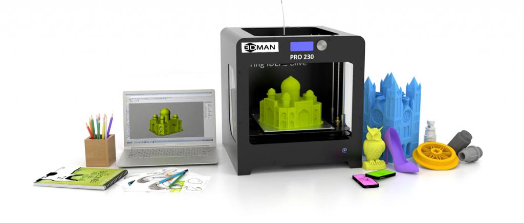 Một tương lai có thể in 3D bất kỳ thứ gì đang đến gần
