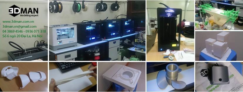 Công nghệ IN 3D làm thay đổi chu trình sản xuất như thế nào?