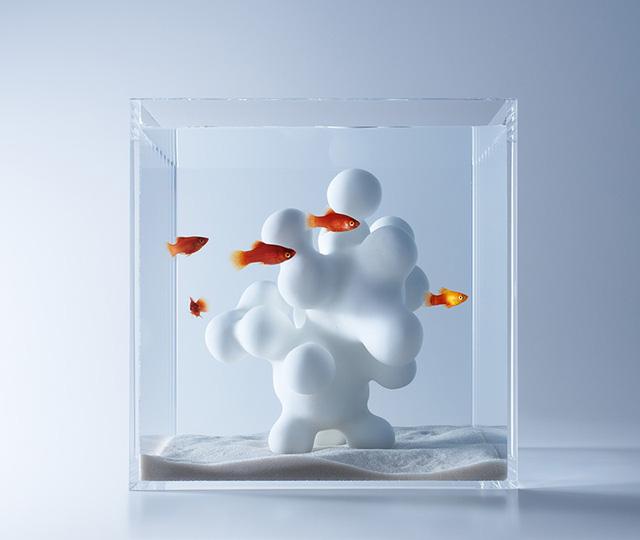 Ngắm nhìn bể cá mini đẹp mê hồn khi kết hợp với công nghệ in 3D